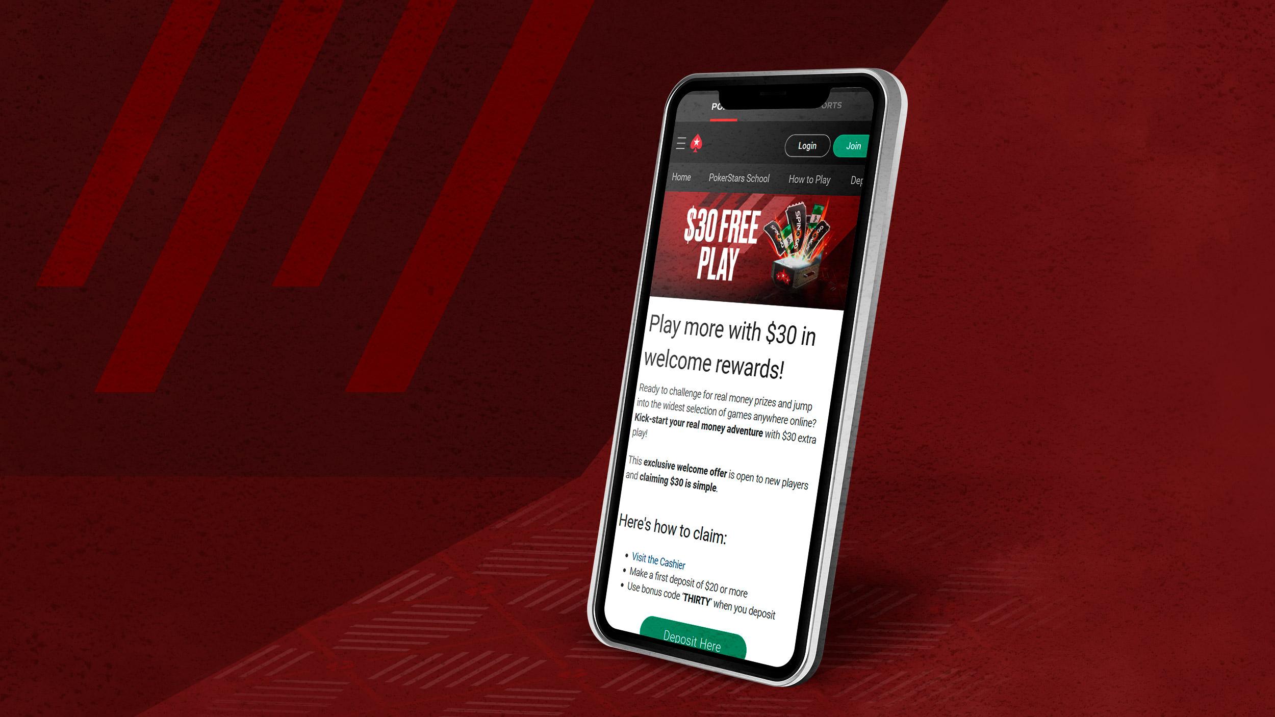 Мобильный клиент Pokerstars.