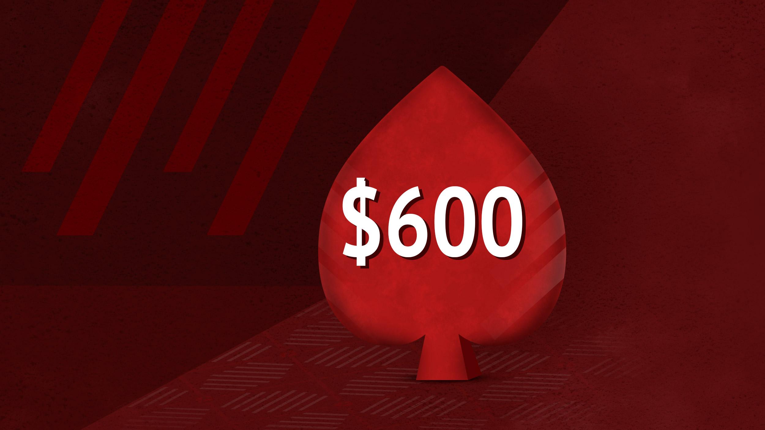 Бонус 100% к депозиту в покерном руме Pokerstars.